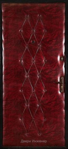 Дверь с ковкой DR257